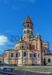 Basilica of Saint Julien, Brioude, France