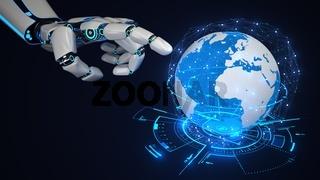 Robot Hand Global Networks