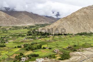Landschaft in Ladakh, Indien