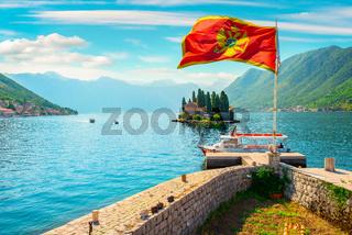 Bay in Montenegro