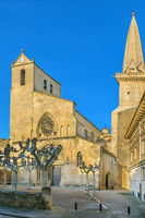 San Pedro church, Olite, Spain.