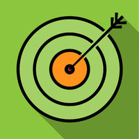 goal or target achieved symbol