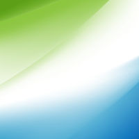 Blue And Green Banner With Line