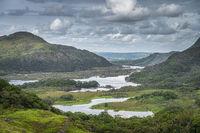 Irish iconic viewpoint, Ladies View, Killarney