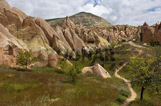 Landschaft im Nationalpark Göreme, Türkei