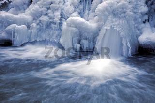 Wasserfall an der Ernz, Luxemburg
