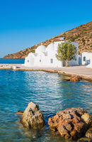 Chapel on Sifnos by the sea