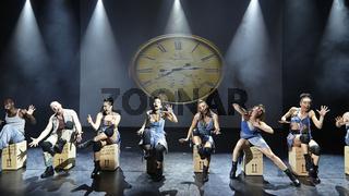 The dance and rhythm show Mayumana - Momentum