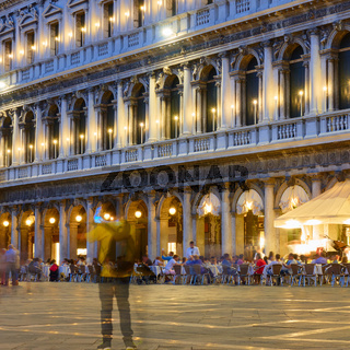 Building on Saint Mark Square in Venice