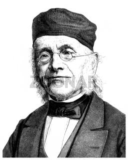 Friedrich August Gottreu Tholuck, 1799 - 1877, a German Protesta