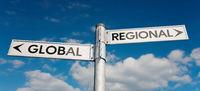 Global oder Regional