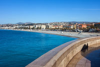 Ciy of Nice on French Riviera