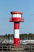 Leuchtturm 002. Eckernfoerde. Deutschland