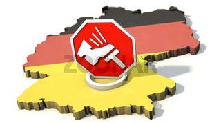 Bundesnotbremse in Deutschland