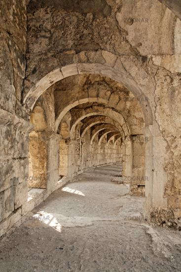 Amphitheater von Aspendos.