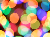 Defocused color background