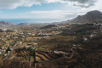 panorama shot of the Canary Islands, Spain
