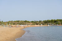 Golden Beach near Chania on Crete, Greece
