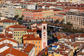 City of Nice in France