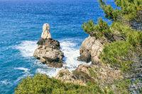 Cala Deia an der mallorquinischen Westküste