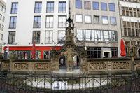 Heinzelmännchen-Brunnen in der Kölner Altstadt