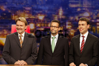 Volker Kefer, Winfried Hermann, Nils Schmid