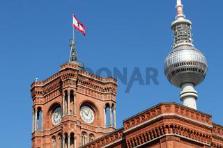 Rotes Rathaus 001. Berlin. Deutschland