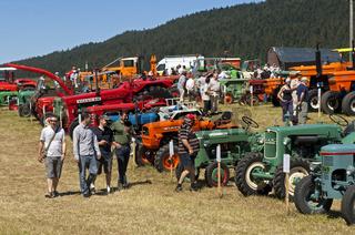 Tracto Mania, Austellung von Oldtimer Traktoren