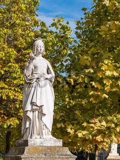 Skulptur im Luxemburggarten in Paris, Frankreich