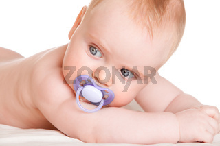 six-month-old baby