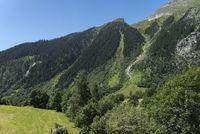 Landschaftsbild bei Fieschertal Landscape near Fieschertal