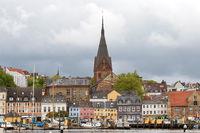 Stadtlandschaft 001. Flensburg. Deutschland