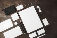 Blank corporate identity