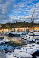 Port of Nice at Sunrise