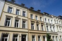 Dreifensterhäuser aus der Gründerzeit in Köln Ehrenfeld