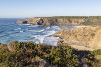Küste nahe Odeceixe, Algarve, Portugal, coach near of Odeceixe, Algarve, Portugal
