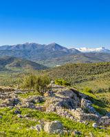 Mycenae City, Peloponese, Greece