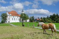 Wieskirche in Steingaden,Oberbayern,Deutschland