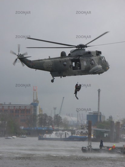 CH53 in action