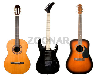 Guitars set.