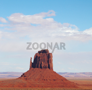 The famous  Monument Valley