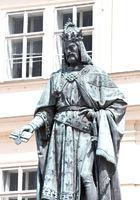 Karl IV. Statue Prague