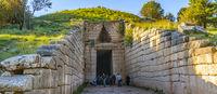 Agamemnon Tomb, Micenae, Greece