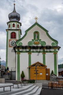 Church in San Cassiano, Val Badia