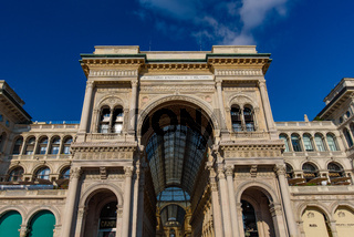 Galleria Vittorio Emanuele II in Milan, Italy's oldest shopping mall