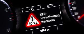Bis 30.11. KFZ-Versicherung wechseln