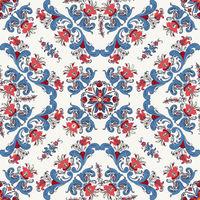 Rosemaling vector pattern 10