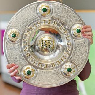 Meisterschale - Wanderpokal  deutscher Fußballmeister -