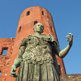 Roman statue of Augustus
