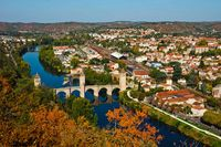 Pont Valentre in Cahors, southern France